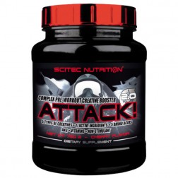 Scitec Nutrition Attack 2.0 720 гр.