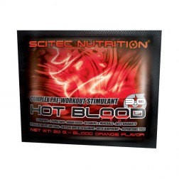 Scitec Nutrition HOT BLOOD 3.0 20 гр. пакет (НОВА ФОРМУЛА)