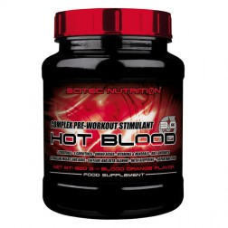 Scitec Nutrition HOT BLOOD 3.0 820 гр. (НОВА ФОРМУЛА)