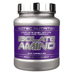 Scitec Nutrition Isolate Amino 500 капсули (125 дози)