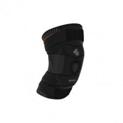 Shock Doctor Ултра Компресираща наколенка без отвор с гел възглавнички и пристягащи ленти X-Strap